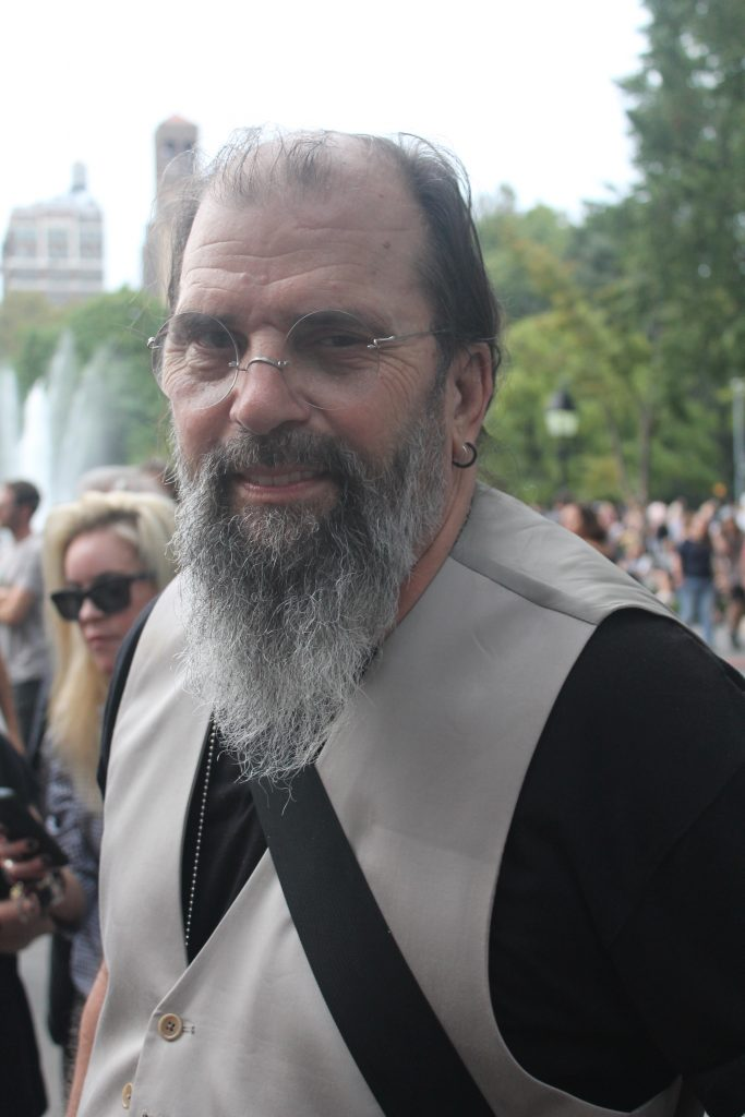 Steve Earle headlined The Village Trip's free concert in the park. (Photo by The Village Sun)